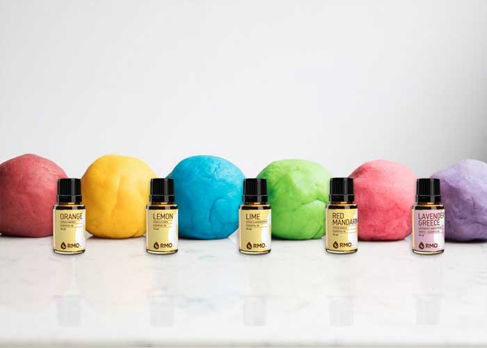 DIY Essential Oil Playdough